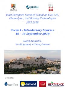 JESS 2018 brochure - week 1 front page
